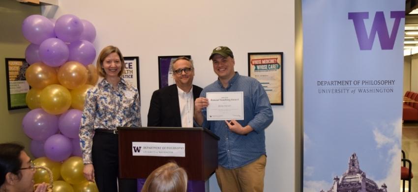 Graduate Teaching Award: Blake Hereth