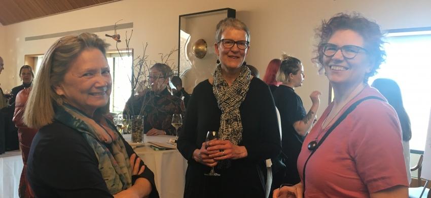 Linda Heuertz, Bev Wessel and Sharon Frucci