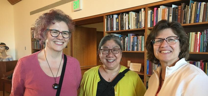 Sharon Frucci, Sumi Hayashi and Michele Jacobs
