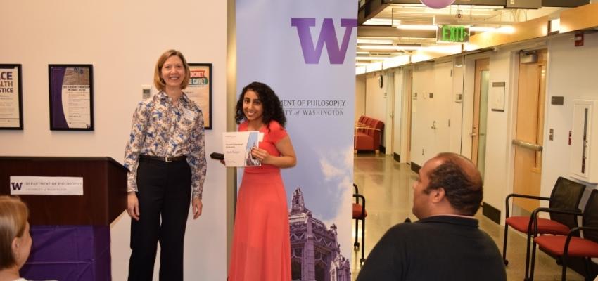 Kenneth Clatterbaugh Scholarship Winner: Sheila Panyam