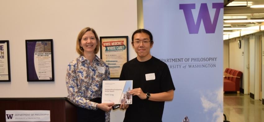 Outstanding Graduating Senior Award: Tianli Song