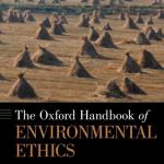 Book cover - Oxford Handbook of Environmental Ethics