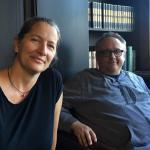 Sara Goering and Michael Blake