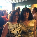 Jana Mohr Lone and Marcia Evans