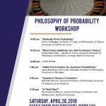 Probability Workshop poster