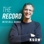 NPR KUOW's The Record with Bill Radke Logo
