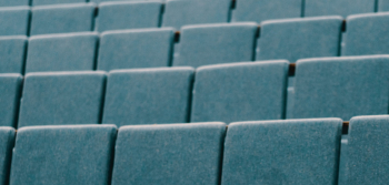 Empty lecture room chairs