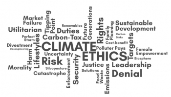 Climate Ethics World Cloud