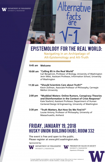 Epistemology for the Real World Poster