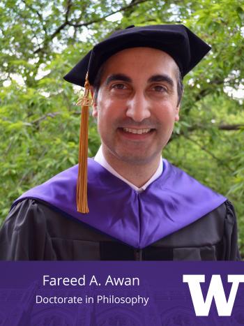 Fareed A. Awan, Doctorate in Philosophy