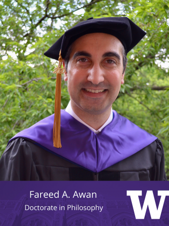 Fareed A. Awan, Doctorate in Philosophy