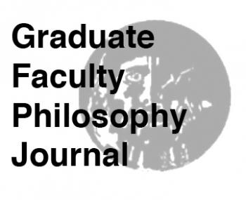 Graduate Faculty Philosophy Journal