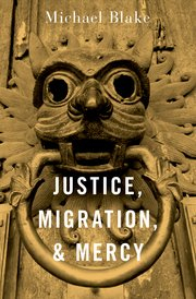 Book Cover - Justice, Migration, & Mercy