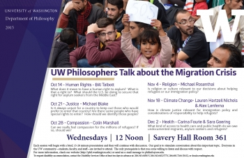 UW Philosophers talk about the Migration Crisis