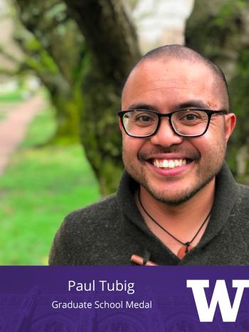 Paul Tubig - Graduate School Medal