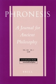 Phroness journal cover