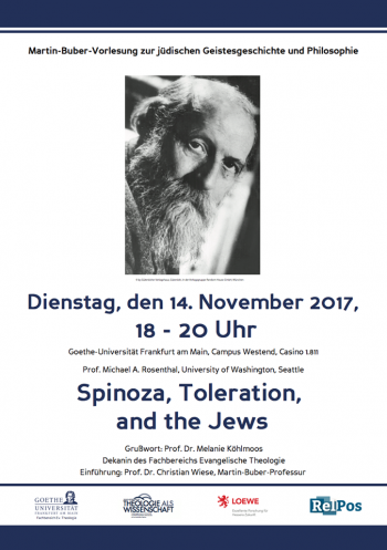 Spinoza, Toleration and The Jews