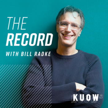 NPR KUOW's The Record with Bill Radke Logo