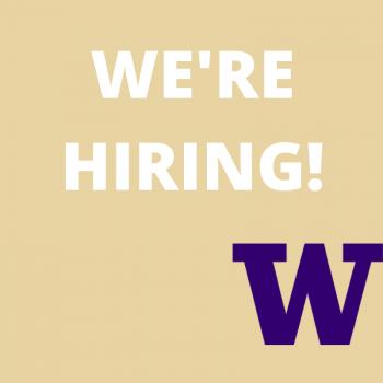 We're hiring! (W logo)