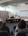 Ethics Bowl participants at the WCCW