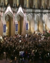Students gather at Red Square