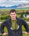 Iceland Landscape and Self Portrait