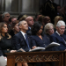 President Donald Trump, former President Barack Obama and former President Bill Clinton, during the funeral for former President George H.W. Bush. AP Photo/Alex Brandon, Pool