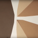 Screen Shot from winning video, showing 3 geometric brown shapes