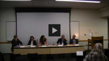 "YouTube link to ""Immigration, Religion, and Human Rights"" - Panel Discussion"