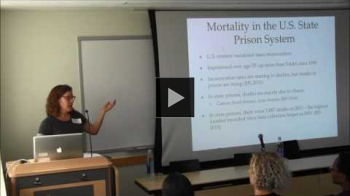 YouTube link to Dying Inside: Care, Control, and Freedom for Prisoners at the End of Life