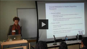 YouTube link to Evaluating Mechanisms of Racial Disparities in Breast Cancer Survival